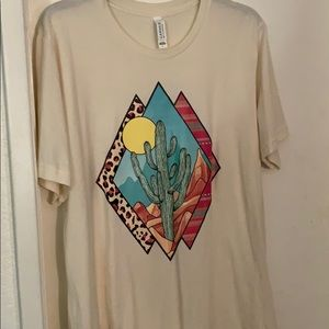 Desert cactus tee